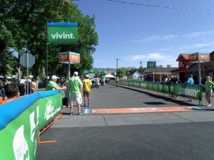 Starting point of Tour of Utah today in Richfield, UT