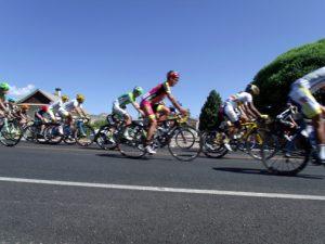 Riders in Tour of Utah
