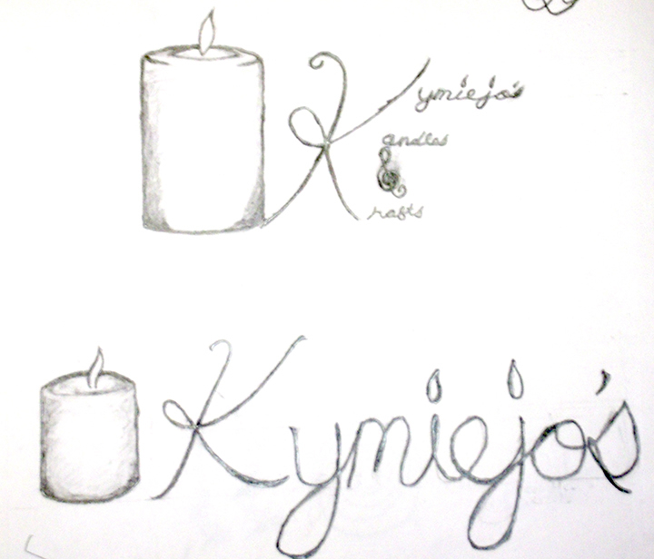 KymieJo's Candles roughs