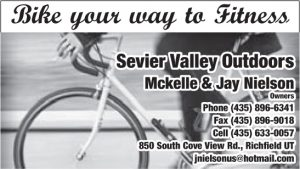Advertisement design by Graphic Artist Dallas Price for Sevier Valley Outdoors. Published in The Richfield Reaper 01/22/2014.