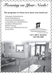 Advertisement design by Graphic Artist Dallas Price for Stonehenge. Published in The Richfield Reaper 01/22/2014.