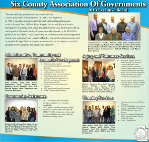 Advertisement design by Graphic Artist Dallas Price for Six County Association of Governments. Published in The Richfield Reaper 01/30/2013.