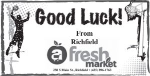 Advertisement design by Graphic Artist Dallas Price for Fresh Market. Published in The Richfield Reaper 02/12/2014.
