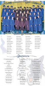 North Sevier High School Graduation page designed by Graphic Artist Dallas Price. Published in The Richfield Reaper 05/22/2013.