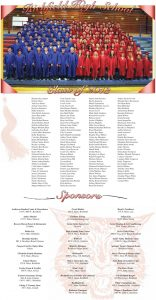 Richfield High School Graduation page designed by Graphic Artist Dallas Price. Published in The Richfield Reaper 05/22/2013.