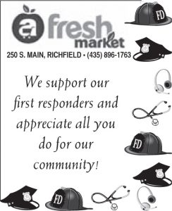 Advertisement design by Graphic Artist Dallas Price for Fresh Market. Published in The Richfield Reaper 06/12/2013.