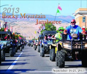Cover design by Graphic Artist Dallas Price for The Richfield Reaper Rocky Mountain Jamboree section published 09/11/2013.