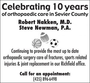 Advertisement design by Graphic Artist Dallas Price for Robert Nakken. Published in The Richfield Reaper 06/13/2012.