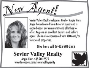 Advertisement design by Graphic Artist Dallas Price for Sevier Valley Realty. Published in The Richfield Reaper 08/01/2012.