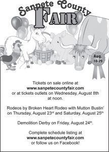 Advertisement design by Graphic Artist Dallas Price for Sanpete County. Published in The Richfield Reaper08/08/2012.