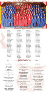 Richfield High School Graduation Page design by Graphic Designer Dallas Price. Published in The Richfield Reaper 05/28/2014.