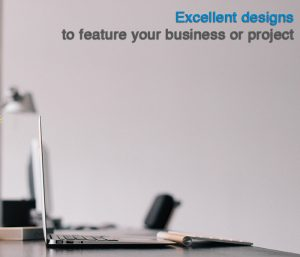 Excellent designs to feature your business or project