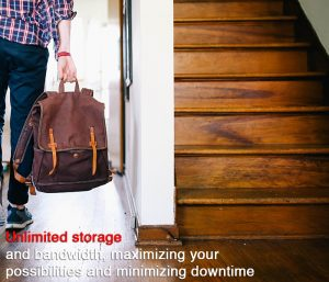 Unlimited storage and bandwidth, minimizing downtime and maximising opportunity