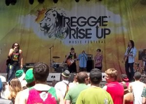 Know Ur Roots performing in SLC at Reggae Rise Up festival
