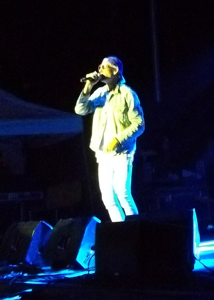 Matisyahu performing in SLC at Reggae Rise Up festival