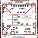 Events map from the 2013 Richfield Reaper independence day celebration guide