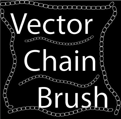 Vector Chain Brush