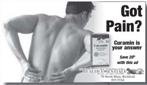 Advertisement design by Graphic Designer Dallas Price for Sevier Valley Health Essentials. Published in The Richfield Reaper 08/20/2014