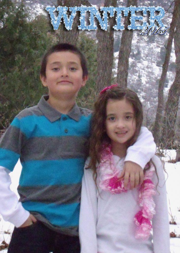Price family photos Winter 2015 taken at Maple Grove, Utah
