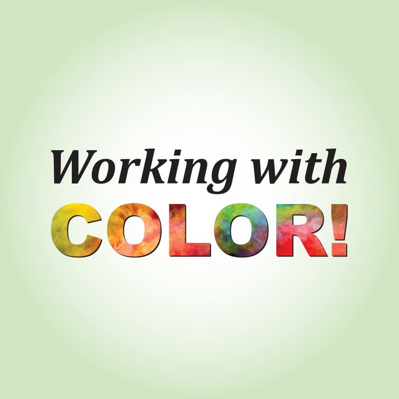 working with color