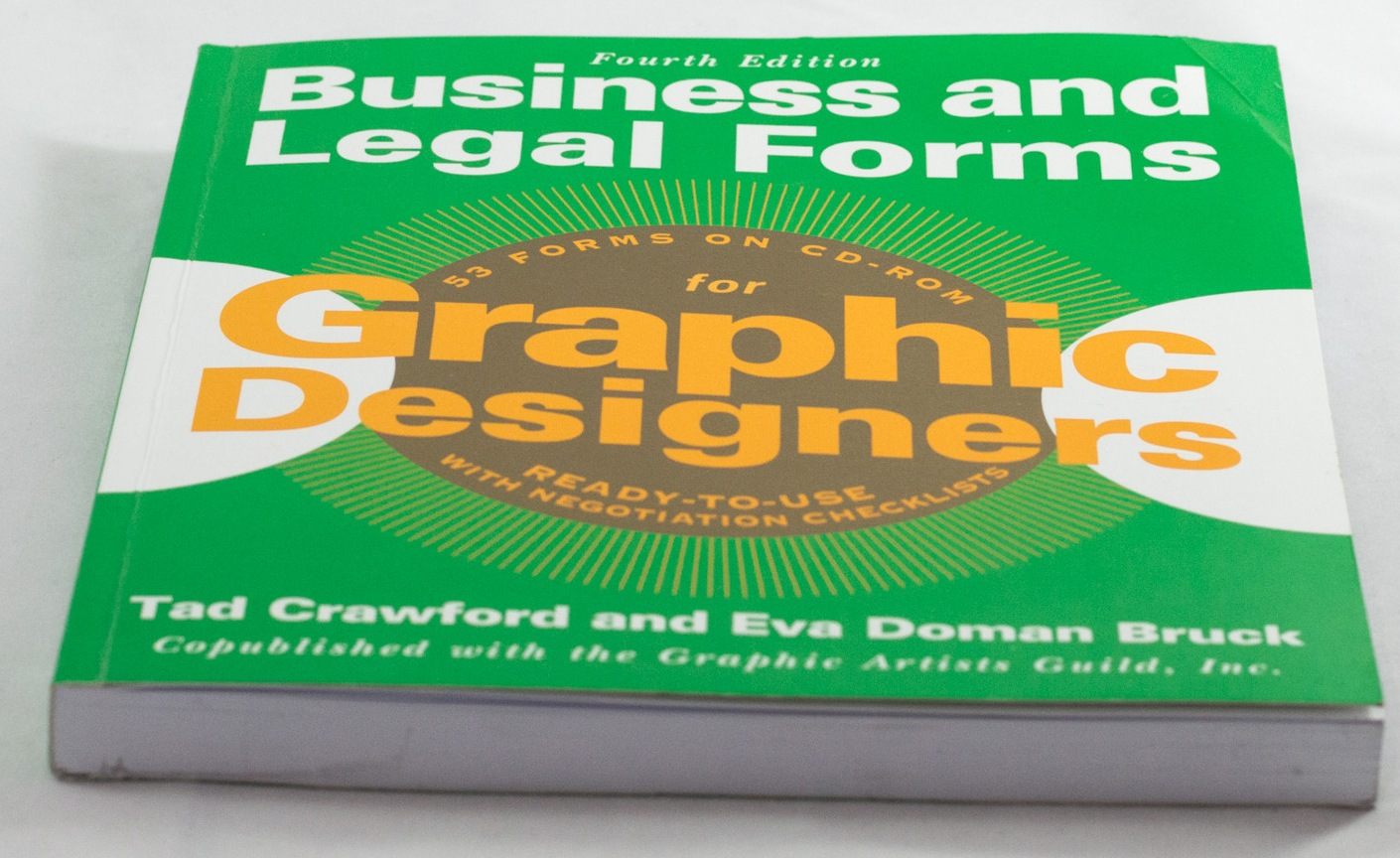 Business and Legal Forms for Graphic Designers – Crawford & Doman Bruck, Graphic Artists Guild