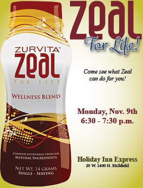 quarter page flyers for zeal