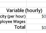 variable expense
