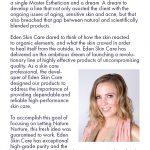 Eden Skin Care Brochure 2nd page